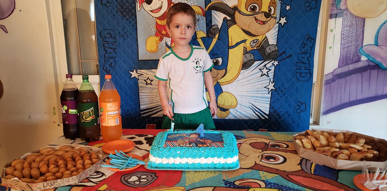 Aniversário Heitor - 4 Anos